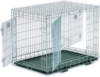 dog crate for two dogs