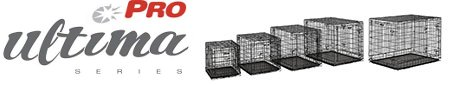 Midwest Ultima Pro Dog Crate Logo and Array of Crates