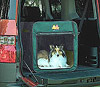 Canine Camper Dog Crate in SUV