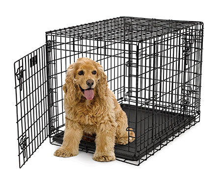 Midwes Ultima Pro Triple Door Folding Dog Crate Model
