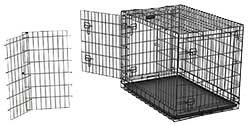 Midwest Ultima Pro Triple Door Folding Dog Crate Model