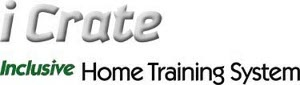 iCrate Double Door Inclusive Home Training System Logo